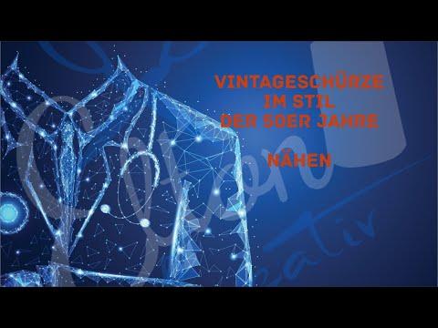 Vintage Schürze im Stil der 50er Jahre nähen (FORTGESCHRITTENE)