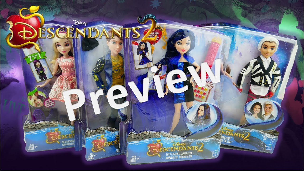 Disney Descendants 2 Movie New Doll and Toy Preview