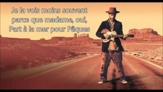 Christophe Maé  -  La Parisienne (Lyrics/Paroles)