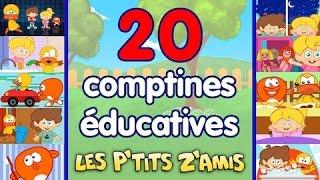 Pirouette, cacahuète + 20 comptines et chansons éducatives - compilation 38 Min
