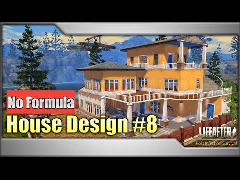 Desain Rumah Lifeafter Manor 6 No Formula Lifeafter