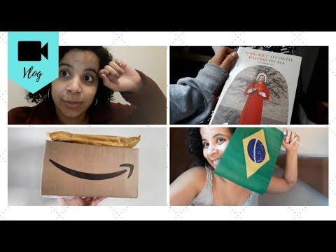 VLOG DE LEITURA #08 | O CONTO DA AIA, LA CASA DE PAPEL, UNBOXING E COMPRINHAS NA 25 | Livraneios