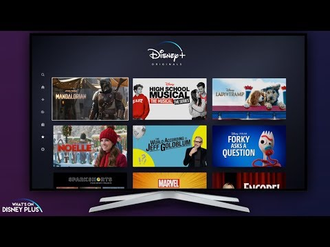 Disney+ App Walkthrough | D23 Expo 2019
