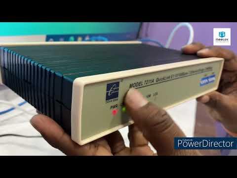 E1/Ethernet/V.35 Converters