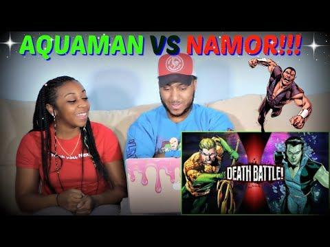 """Death Battle! """"Aquaman VS Namor DEATH BATTLE!"""" REACTION!!!"""