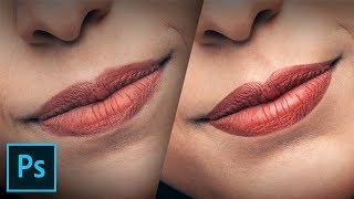 4 Steps To Create Stunning Lips In Photoshop!