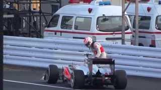バトンが喜び過ぎて、ちょっとスベる!日本グランプリ2011