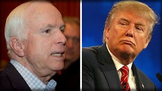 JUST AS TRUMP BEGINS MAKING AMERICA SAFE AGAIN, SONGBIRD MCCAIN PLAYS THE ONLY CARD HE HAS LEFT
