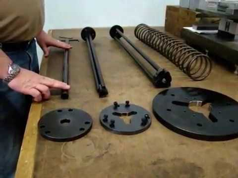 FLASH 25 Thru-Rod Setup