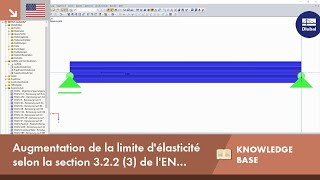 [EN] KB 001652 | Augmentation de la limite d'élasticité selon la section 3.2.2 (3) de l'EN 1993-1-3