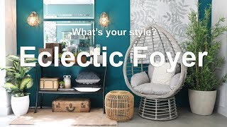 Whats Your Style? Designing An Eclectic Foyer | MF Home TV