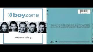 Boyzone - Where We Belong (Album 1998)