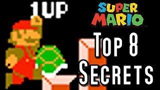 Super Mario Bros TOP 8 SECRETS (NES)