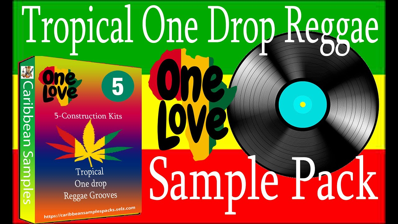 Tropical One Drop Reggae Grooves #5/5-Construction kits /Royalty Free / Sample Pack