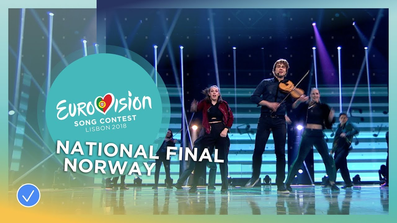Alexander Rybak — That's How You Write A Song (Norway) (Eurovision 2018)
