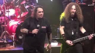 Exodus - Metal Command & Piranha Live @ Sticky Fingers, Gothenburg 2016