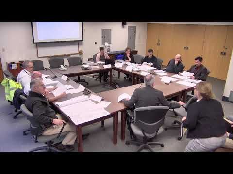 12/10/19 Site Review Technical Advisory Committee Work Session