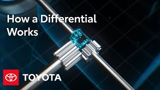 How a Differential Works | Toyota