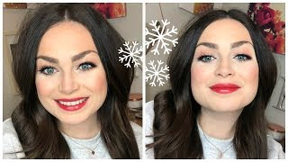 HOLIDAY MAKEUP TUTORIAL | Quick & Easy | Kelsey Kristyn