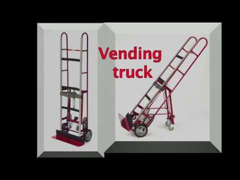 Sækkevogn til automater og hvidevare
