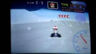"""Mario kart 64 - FS lap 38"""" 85"""