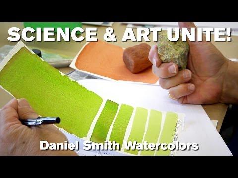 Science & Art Unite! Daniel Smith Watercolors