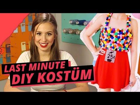 Last Minute Kostüm: KAUGUMMI-AUTOMAT - DIY or DI-Don't w/ Cali Kessy
