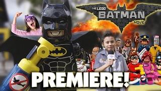 EvanTubeHD at The LEGO BATMAN MOVIE PREMIERE & PARTY!!!