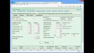 IAS Payroll - Process Payroll Tutorial