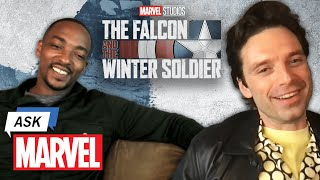 Marvel Studio's The Falcon and The Winter Soldier - Anthony Mackie & Sebastian Stan   Ask Marvel