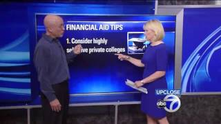 Jimmy Becker Discussing the Cost of College on Up Close with Diana Willams