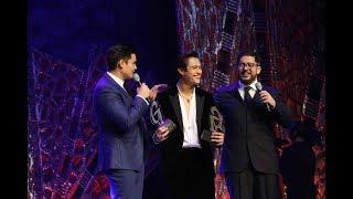 Enrique Gil Naging Emosyonal Nang Tawagin sa Stage nina Aga at Dong Para Ialay sa Kanya ang Awards