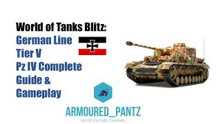 World of Tanks Blitz: German Line - Tier V Pz IV Complete Guide