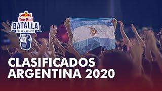 Conoce a los clasificados a la Final Nacional #RedBullBatalla #Argentina 2020.  -- » Escúchanos en Spotify https://win.gs/BatallaSpotify » Entra en la gallera: http://win.gs/LaGallera » Batalla en Facebook: https://www.facebook.com/RedBullBatalla » Batalla en Twitter: https://twitter.com/redbullbatalla » Batalla en Instagram: https://instagram.com/redbullbatalla