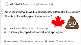 Americans who've moved to Canada, how different is the culture?   America vs Canada