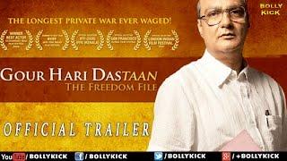 Gour Hari Dastaan Official Trailer   Hindi Movies   Hindi Trailer 2017   Bollywood Movies 2017