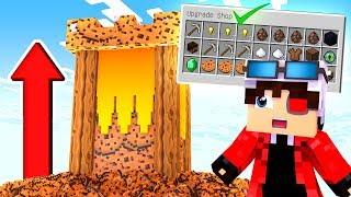 КУПИТЬ ВСЕ ПРОКАЧКИ ЧЕЛЛЕНДЖ! СТРОИМ БАШНИ ЗА ПЕЧЕНЬЕ! БИТВА ПЕЧЕННЫХ БАШЕН! Minecraft