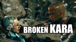 """Detroit Become Human - """"Did You Know"""" That There Is A Broken Kara In The Junkyard? - From The Dead"""