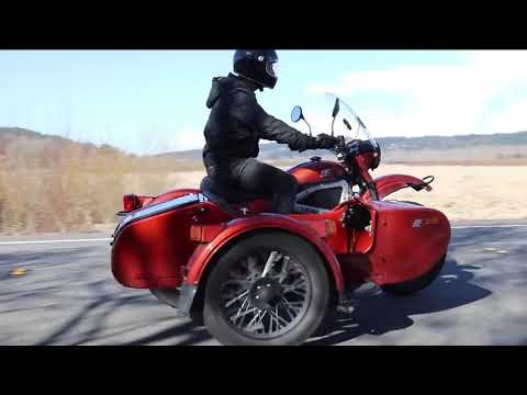 Motorcycle Ural electro live
