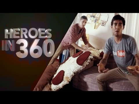 Fenomen Sihirbaz Zach King'ten Müthiş 360 Video