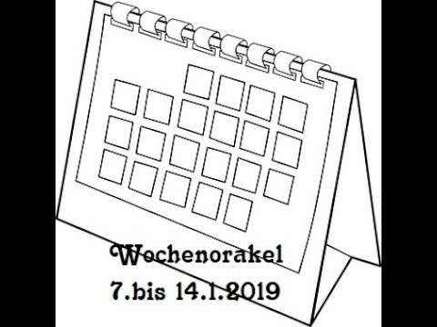 Wochenorakel 7.1. bis 14.1.2019 Klärende Gespräche in der Liebe und Erneuerung (видео)