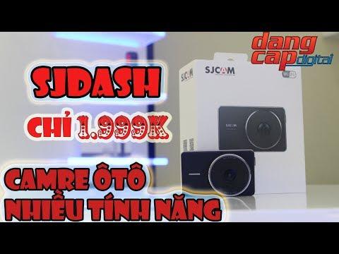 Dangcapdigital.vn - Camera ô tô SJCAM SJDASH || Chỉ 1999K quá nhiều tính năng!!