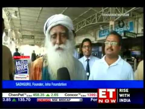 ET NOW - Rally for Rivers - 13/09/17