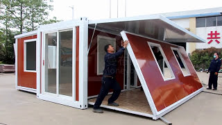 Luxury expandable container house