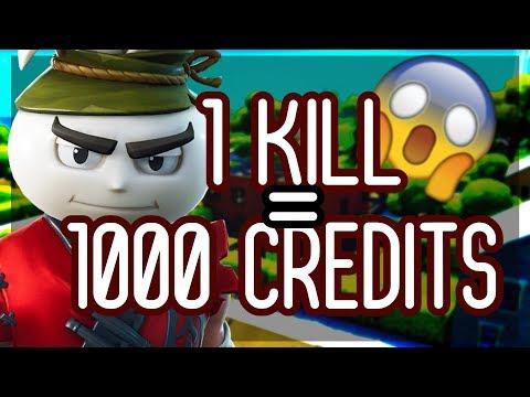 [FORTNITE CONCOUR] JE VOUS FAIS GAGNER DES CREDITS FUT 20  1KILL = 1000 CREDITS !