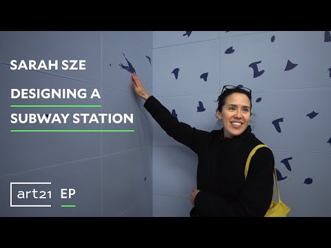 "Sarah Sze: Designing a Subway Station | Art21 ""Exclusive"""
