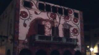 preview picture of video 'Correfocs Sant Antoni 2012 a Muro.avi'