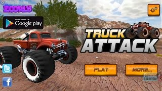 """Truck Attack """"World 1"""" Unity3D Games, Monster Truck, 4x4 Driving games, Flash Online Gameplay"""