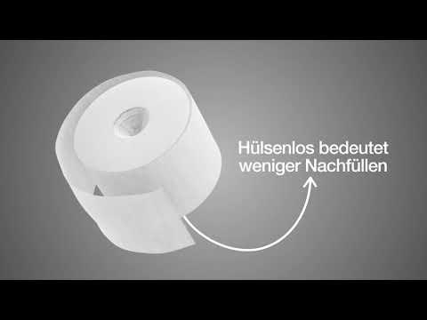 Tork Doppelrollenspender für hülsenloses Toilettenpapier - Mehr durch weniger