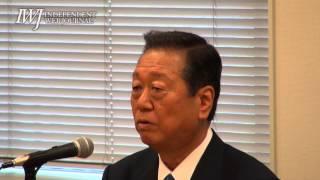 140701生活の党小沢一郎代表記者会見
